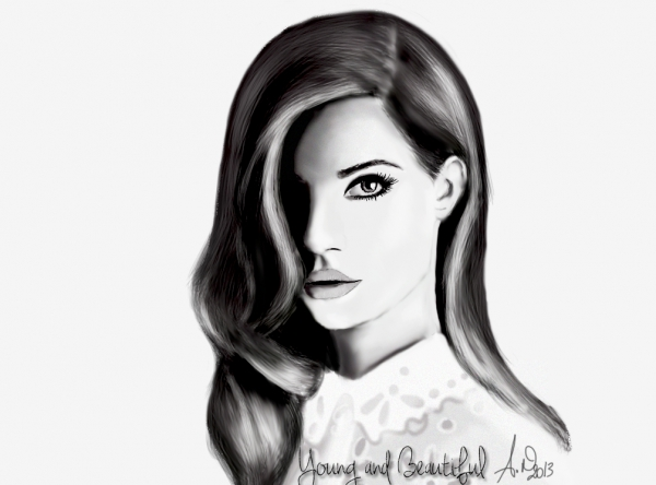 Lana Del Rey by x--m0n-art--x